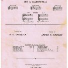 Just A Cottage Small Sheet Music B DeSylva James Hanley