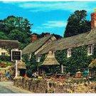 Devon England United Kingdom Postcard Branscombe Cob Corn Thatched