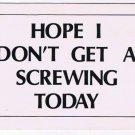 Comic Funny Postcard Screwing Today No 378 1975 Universal Crafts Toronto