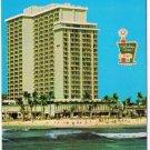 Honolulu Hawaii Postcard Holiday Inn Waikiki Beach Aloha