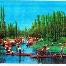 Mexico Postcard Floating Gardens of Xochimilco