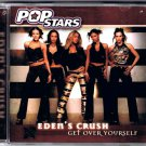 Edens Crush CD Get Over Yourself Pop Stars 2001 NM