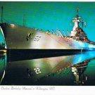 Wilmington North Carolina Postcard USS North Carolina Battleship Memorial
