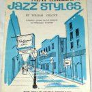 New Orleans Jazz Styles Song Book Piano 1965