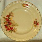 J & G Meakin Dinner Plate Floral Bouquet Ladies in Background 8 3/4""