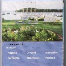 Maine New Hampshire Vermont Road Map 2005 AAA State Series