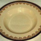 Royal Ivory Rimmed Soup Bowl John Maddock Royal Blue 7 3/4""