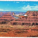 Arizona Postcard Airplane Over Grand Canyon Zoroaster Temple Angel's Gate