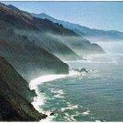 California Postcard Misty Trail Along Wonderful Highway 1