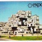 Quebec Postcard Montreal Expo 67 Habitat Havre Architect Moshe Safdie