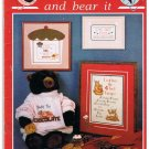 Grin And Bear It by Jacquelyn Fox (1990) Book 5 Cross Stitch