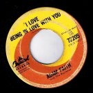 Adam Faith I Love Being In Love With You 45 rpm It's Alright Capitol