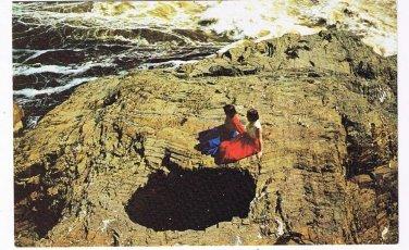 New Brunswick Postcard Grand Falls Wells In Rock Nature Formation