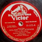 James Melton Holiday For Strings 78 rpm Our Waltz RCA Victor