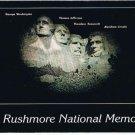 Black Hills South Dakota Postcard Night View Mt Rushmore Memorial