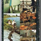 Ontario Official Road Map 1969 Cover Multiple Scenes
