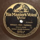 "McKee's Society Orchestra Millicent Waltz 78 rpm 12"" LP Mighty Lak A Rose"