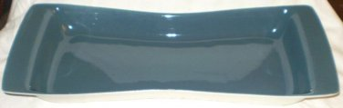 """VINTAGE POOLE Blue Moon Serving Tray 15"""" 1959-1967"""