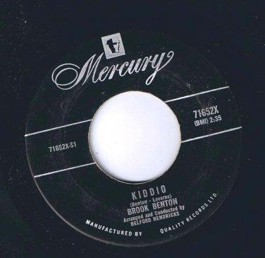 Brook Benton Kiddio 45 rpm The Same One VG+