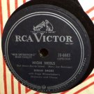 Dinah Shore High Heels 78 rpm The Whistling Tree RCA Victor