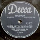 Fred Waring & The Pennsylvanians Tulips & Heather 78 rpm You'll Never Walk Alone