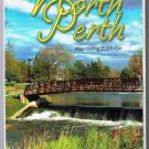 North Perth Ontario Road Map 2005 Listowel Area Cover Bridge Waterfall