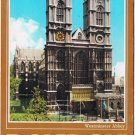 London England Postcard Westminster Abbey