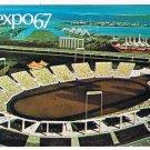 Quebec Postcard Montreal Expo 67 Automotive Stadium
