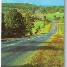 Texaco Road Map 1965 Delaware Maryland Virginia West Virginia