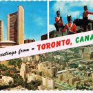 Ontario Postcard Greetings From Toronto Multi View