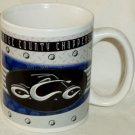 Orange County Choppers Mug Houston Harvest 2005 Red Chopper & Logo