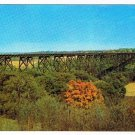 Illinois Postcard Chicago North Western Railway Bridge Des Moines River Valley