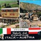Italy Austria Postcard Salut Dal Coccau Multi View