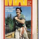Thunder Bay Visitor Map 1997 Man Canoe Old Fort William