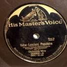 """Orchestra Miro Valse Lanciers Populaire 78 rpm 12"""" LP"""