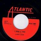LaVern Baker I Cried A Tear 45 rpm Dix-A-Billy Atlantic NM