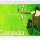 Canada 20c 1976 Handicapped Olympics Single MNH Scott 694