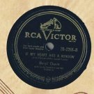 Beryl Davis I Want To Be Loved 78 rpm If My Heart Had A Window