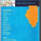 Chicago & Vicinity Illinois Road Map 2004 Cover Rand McNally