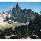France Postcard Mont Blanc Chamonix Highest Alps