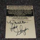 Ginger Lynn Allen signed inscribed movie ad
