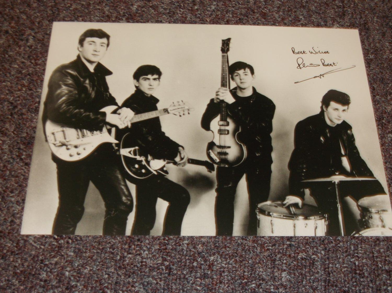 Pete Best signed 10x7 photo reprint? Beatles