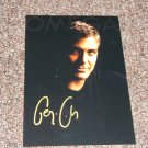 George Clooney signed reprint 5x7 photo
