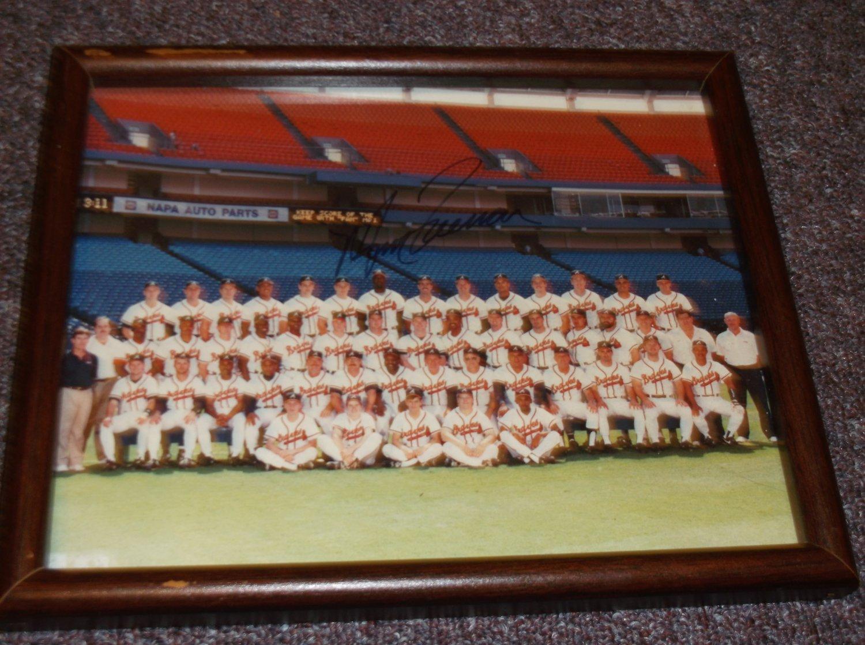 Marvin Freeman Atlanta Braves signed 8x10 photo