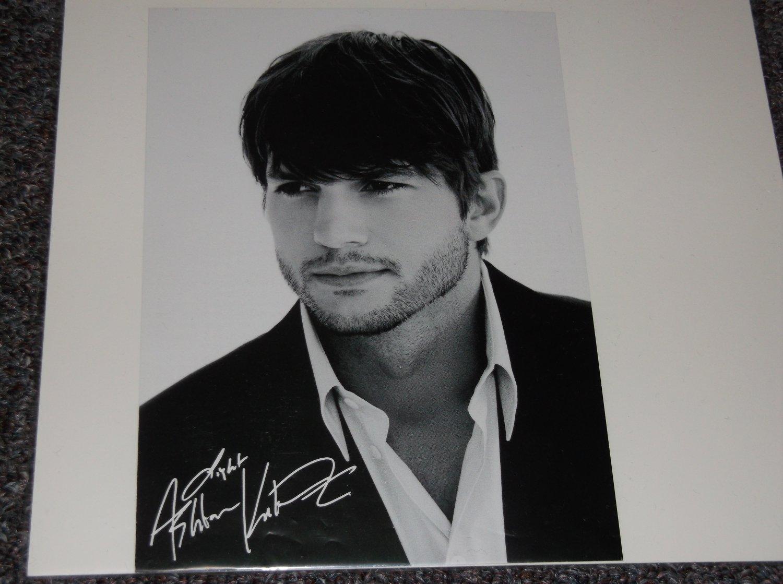 Ashton Kutcher signed reprint 5x7 photo