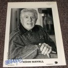 John Mayall signed 8x10 photo English Blues Musician