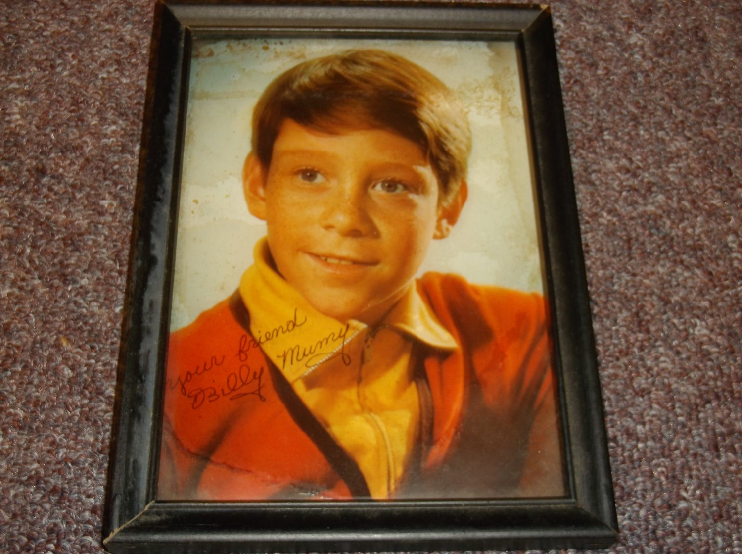 Billy Mumy signed 5x7 Lost In Space vintage photo