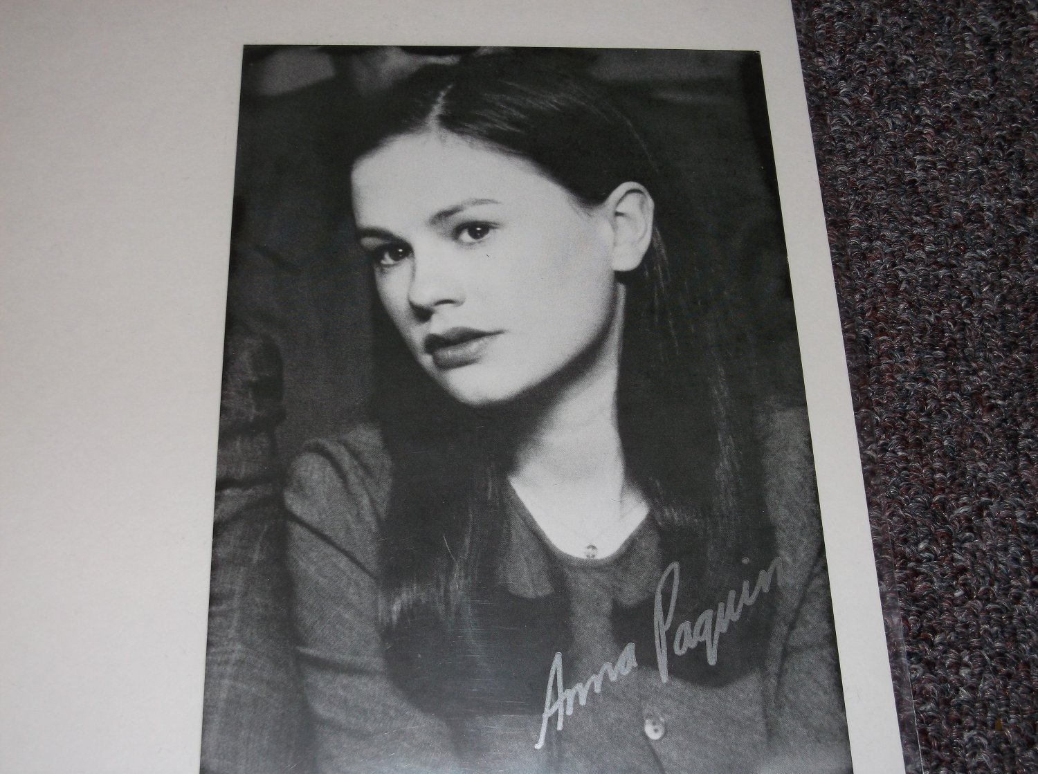 Anna Pacquin signed reprint 5x7 photo