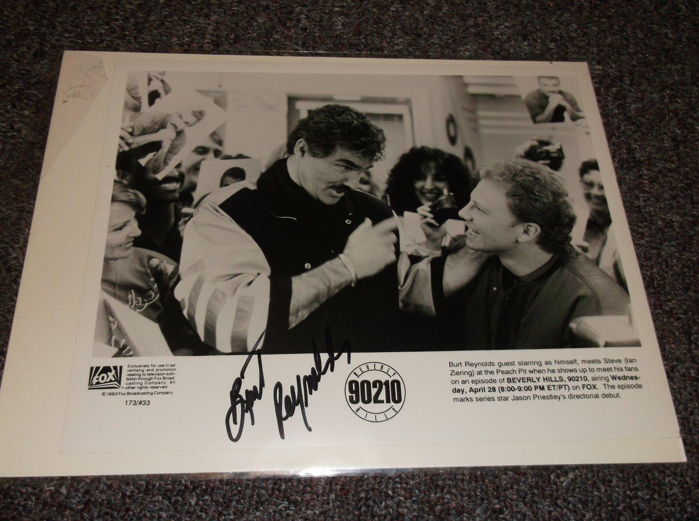 Burt Reynolds signed 10x8 1993 TV photo