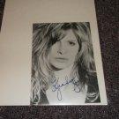Kyra Sedgwick signed reprint 5x7 photo